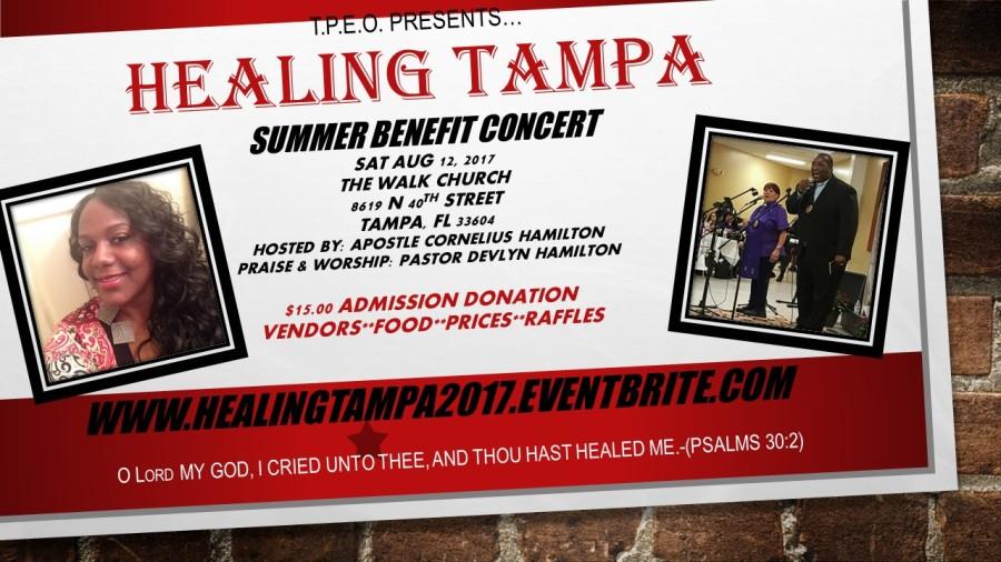 Healing Tampa flyer